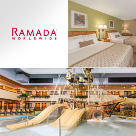 9. $136 – RAMADA HOTEL & SUITES ONE NIGHT STANDARD ROOM, Sioux Falls (Exp: 3/1/2019) limit 2, buyer may upgrade and pay difference, valid Sunday thru Friday nights, excludes Saturday nights & New Year's Eve
