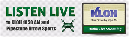 Listen Live to Pipestone Arrow Sports
