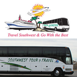 "12. $6,160 – SOUTHWEST TOUR & TRAVEL TRIP FOR TWO, ""CHERRY BLOSSOM TIME"""