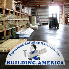 """202. $1,980 – PIPESTONE BUILDING MATERIALS ONE UNIT OF ½"""" CDX PLYWOOD"""