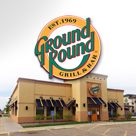 31. $15 – GROUND ROUND GRILL & BAR CERTIFICATE, Worthington/limit 1 per visit per person, not valid for alcoholic beverages or gratuities