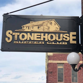 45. $25 – STONEHOUSE AND QUARRY LOUNGE CERTIFICATE, Pipestone/Limit 2 per bidder/limit 1 per visit/no cash or credit given