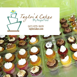 49. $144 – TAYLOR'D CAKES ONE DOZEN BASIC CUPCAKES PER MONTH FOR ONE YEAR