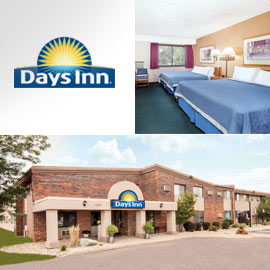 5. $90 – DAYS INN AIRPORT ONE NIGHT STAY, Sioux Falls (Exp: 5/31/2019) 1 or 2 queen beds and complimentary breakfast, newly remodeled, many amenities, guest laundry and fitness center, free wireless internet and Business Center.
