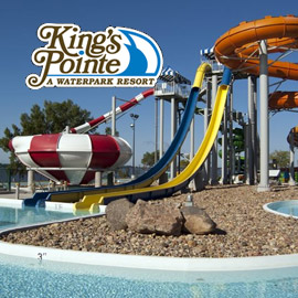 9. $239 – KINGS POINTE WATERPARK & RESORT SUMMER GET-A-WAY, Storm Lake, IA/Double Queen-City View and 4 Waterpark Passes/4 Mini Golf/4 Breakfast Vouchers/ based on availability, exclusions & blackouts apply/Expire: September 2, 2018