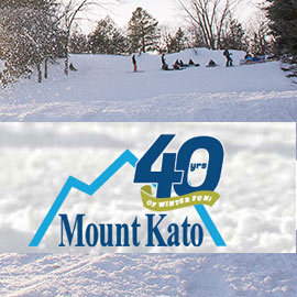 155. $74 – MOUNT KATO LIFT TICKETS & STANDARD RENTAL FOR AGES 13 & OVER,