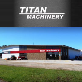 212. $699 – TITAN MACHINERY UPTIME INSPECTION FOR COMBINE OR TRACTOR UP TO 4-WHEEL DRIVE,
