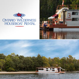 8. $3,750 – ONTARIO WILDERNESS HOUSEBOAT 7 NIGHT TRIP, Morson, Ontario, CA (US$) 54' x 16' boat with 10 beds/use between May 2019 and September 2019 pending open dates/rental includes 110v generator, parking, propane, microwave and TV/VCR. One additional GST charge paid of 13% of retail price at time of check-in.
