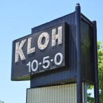 Original KLOH Sign on HWY 30