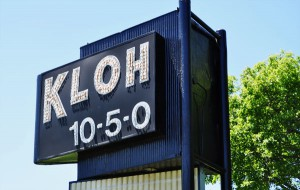KLOH Sign in front of Christensen Broadcasting