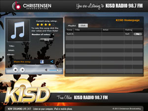 KISD 98.7 FM is now streaming live 24/7