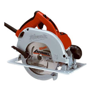 """190. $165 – MIDWEST SUPPLY MILWAUKEE 7.25"""" CIRCULAR SAW WITH TILT LOCK HANDLE"""